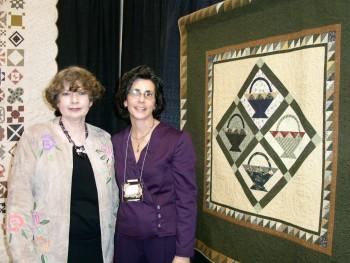 Joanie Zeier Poole with hteacher, Diane Gaudynski