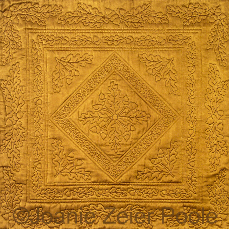 Joanie Zeier Poole Oak Leaf and Acorn Quilting Design Collection