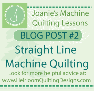Learn Straight line Machine Quilting