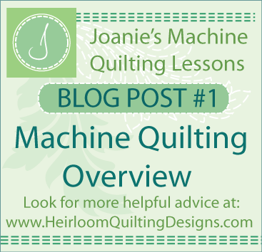 Learn Machine Quilting