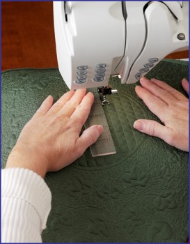 Stitching straight line