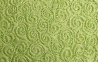 Machine Quilted Spirals