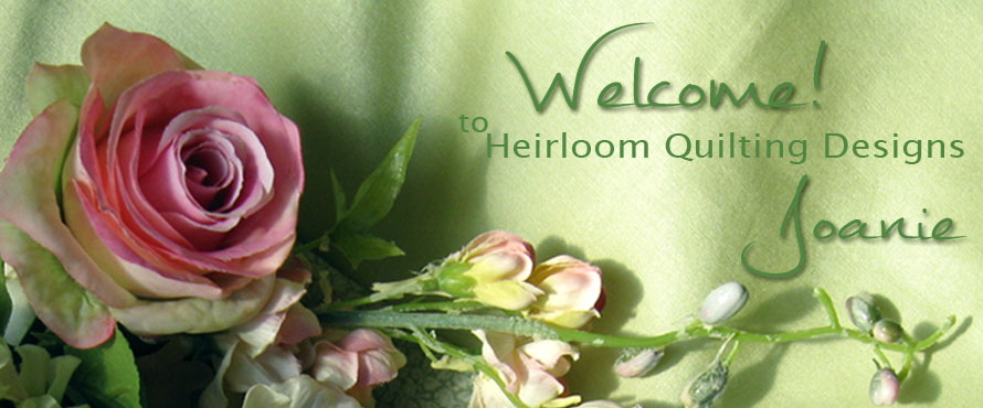 Welcome to Heirloom Quilting Designs