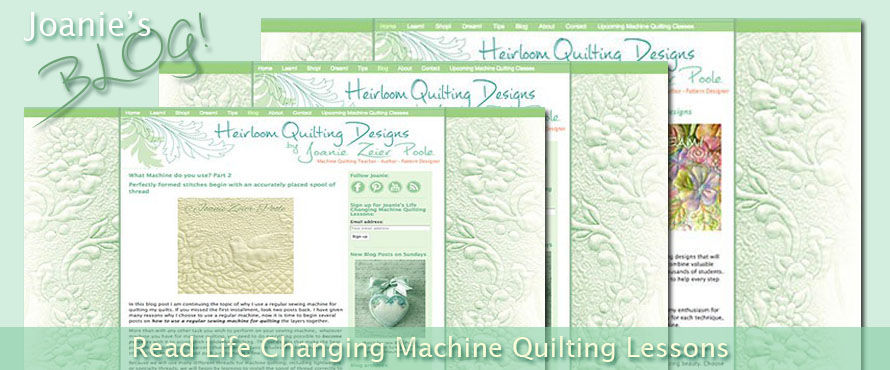 machine quilting lessons
