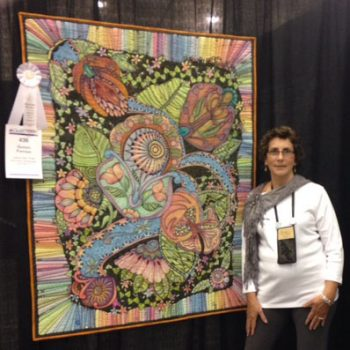 Machine Quilting winner