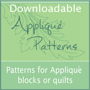 Downloadable Applique Patterns