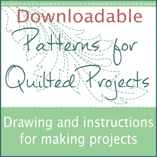 Downloadable Patterns for Quilted Projects